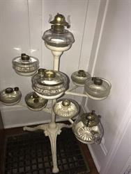 Unreserved Real Estate & Antiques, 1,000+ Kerosene & Oil Lamps Auction - 2