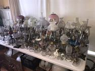 Unreserved Real Estate & Antiques, 1,000+ Kerosene & Oil Lamps Auction - 12