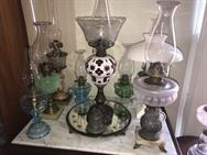 Unreserved Real Estate & Antiques, 1,000+ Kerosene & Oil Lamps Auction - 13