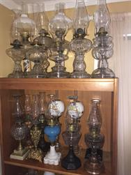 Unreserved Real Estate & Antiques, 1,000+ Kerosene & Oil Lamps Auction - 9