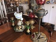 Unreserved Real Estate & Antiques, 1,000+ Kerosene & Oil Lamps Auction - 15