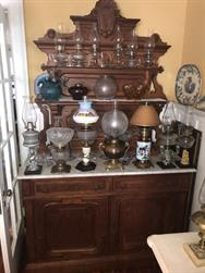 Unreserved Real Estate & Antiques, 1,000+ Kerosene & Oil Lamps Auction - 0