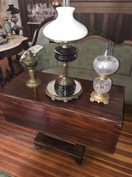 Unreserved Real Estate & Antiques, 1,000+ Kerosene & Oil Lamps Auction - 37