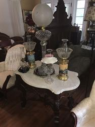 Unreserved Real Estate & Antiques, 1,000+ Kerosene & Oil Lamps Auction - 42