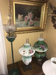 Unreserved Real Estate & Antiques, 1,000+ Kerosene & Oil Lamps Auction - 50