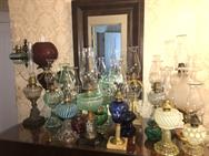 Unreserved Real Estate & Antiques, 1,000+ Kerosene & Oil Lamps Auction - 67