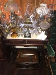 Unreserved Real Estate & Antiques, 1,000+ Kerosene & Oil Lamps Auction - 77
