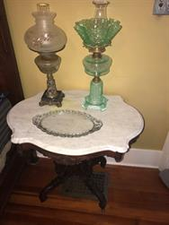 Unreserved Real Estate & Antiques, 1,000+ Kerosene & Oil Lamps Auction - 94