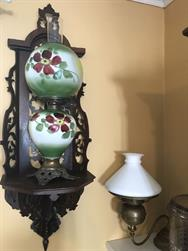 Unreserved Real Estate & Antiques, 1,000+ Kerosene & Oil Lamps Auction - 128